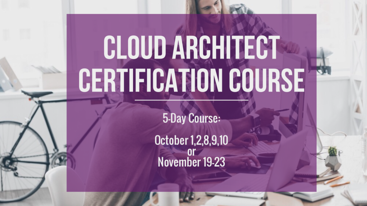 Cloud Architecture Certification Calgary