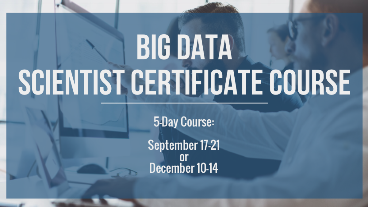Big Data Science Course Calgary 3 Day Big Data Science